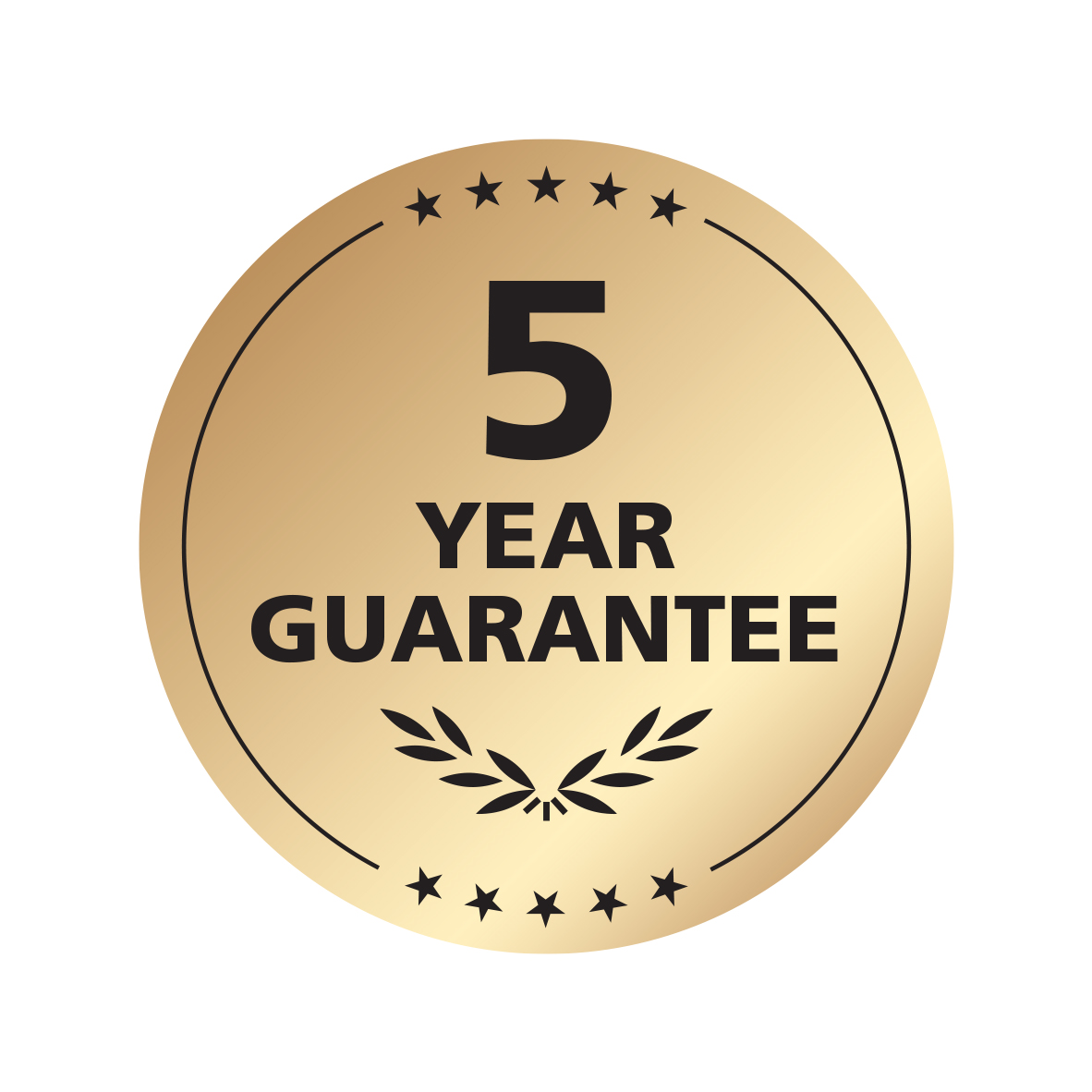 5 Year Guarantee Registration